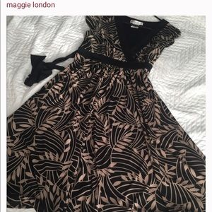 Fit flare dress by Maggy London